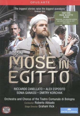 Mosè in Egitto DVD Cover