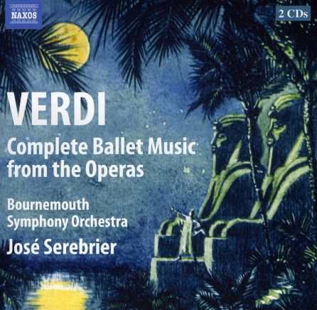 Verdi Ballet Music Cd Cover