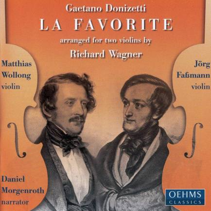 La Favorite (arranged for 2 violins by Wagner) - front