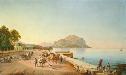 Franz Ludwig Catel - Passeggiata a Palermo